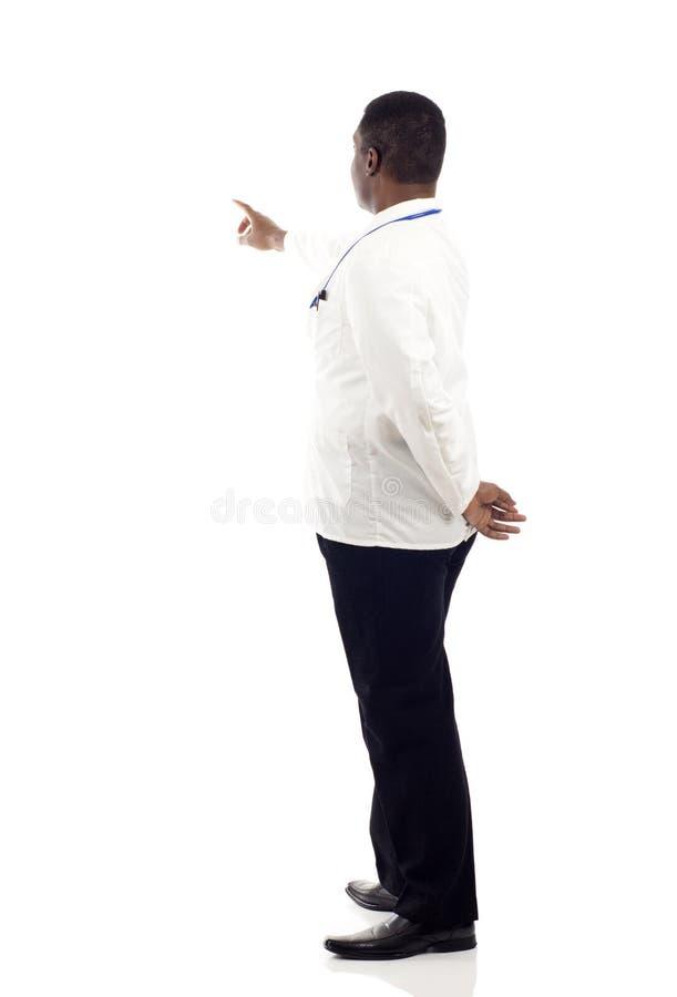 Доктор Pointing стоковое фото