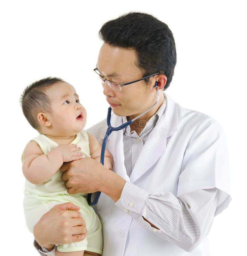 доктор s детей стоковые фото
