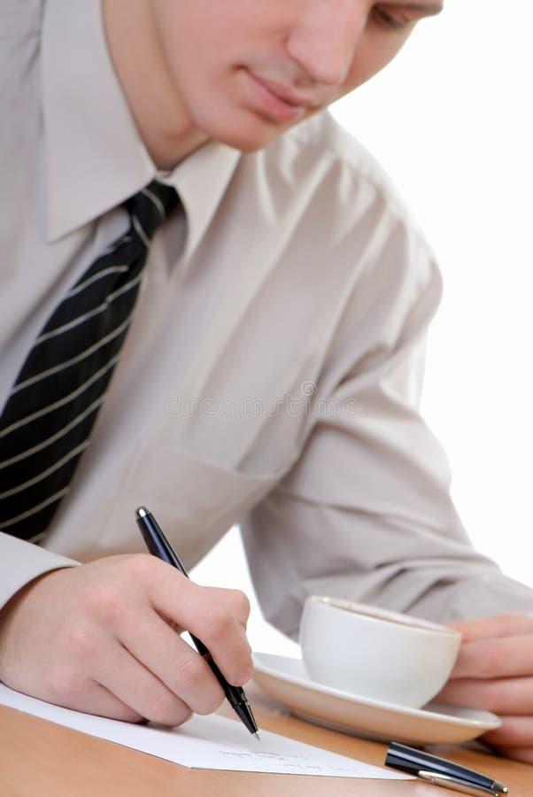 документ coffe стоковые изображения rf