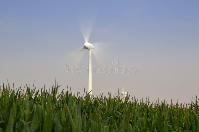 Долгая выдержка колеса ветра стоковые фото