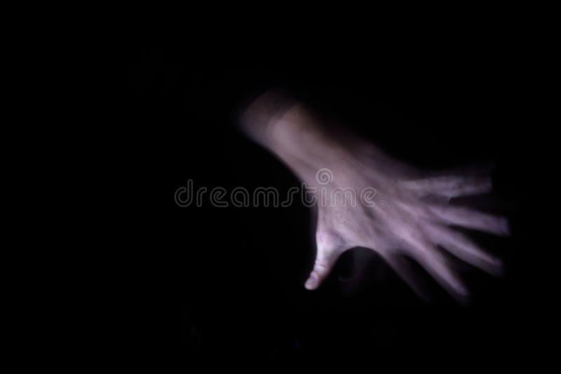 Долгая выдержка руки стоковая фотография rf