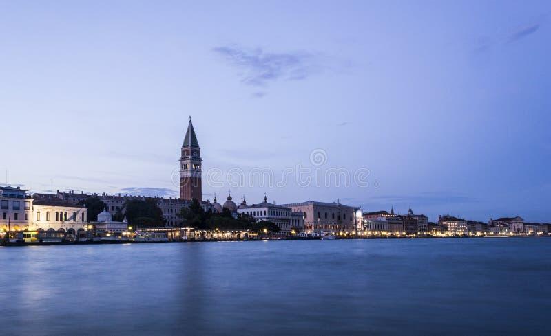 Долгая выдержка Сан Marco, Венеции стоковые изображения