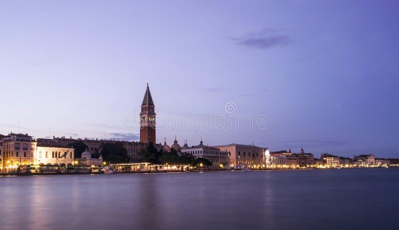 Долгая выдержка Сан Marco, Венеции стоковая фотография rf