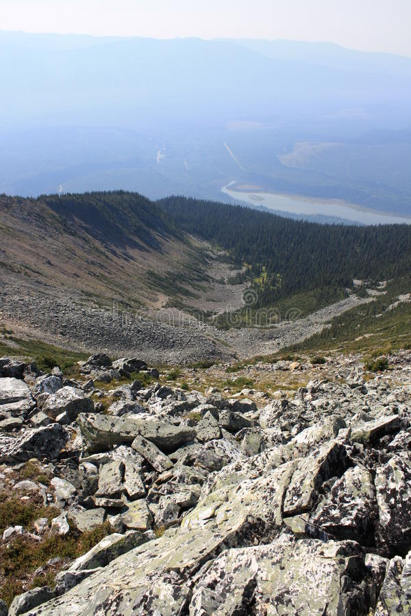 долина горы шара стоковые фото