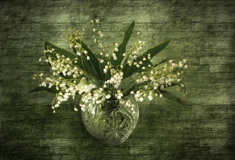долина лилии букета стоковая фотография