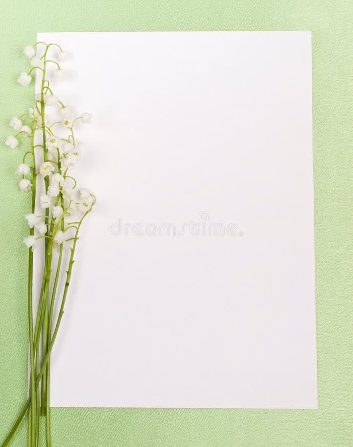 долина лилии карточки стоковые изображения