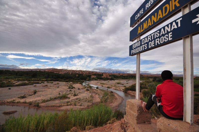 Долина Марокко стоковое изображение