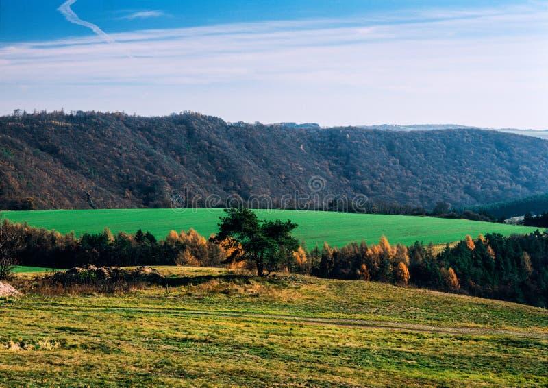 Долина осени стоковые фотографии rf