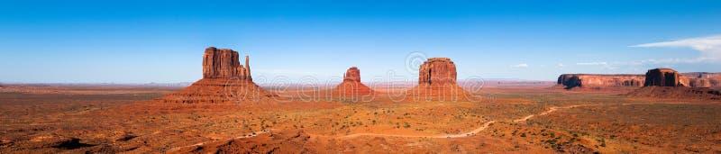 долина панорамы памятника стоковые фотографии rf