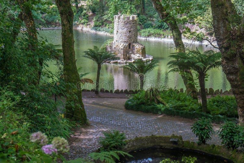 Долина парка Pateira озер стоковые изображения rf