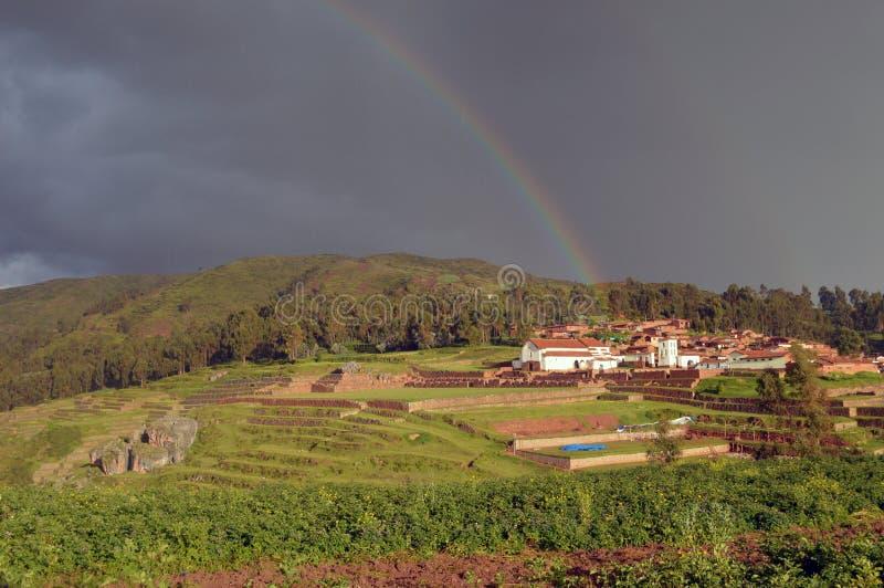 долина Перу священнейшая стоковая фотография rf