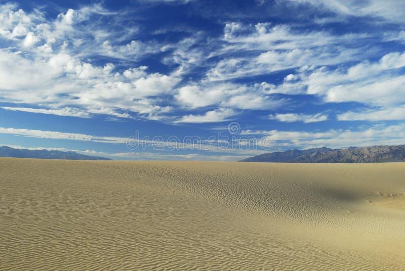 долина песка дюн смерти стоковое фото