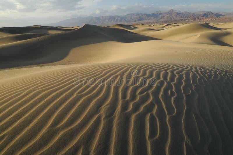 долина песка дюн смерти стоковые изображения rf