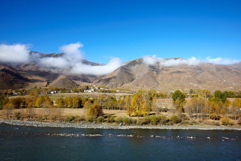 долина плато chuanxi стоковые фотографии rf