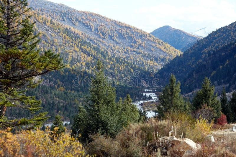 долина плато chuanxi стоковое фото rf