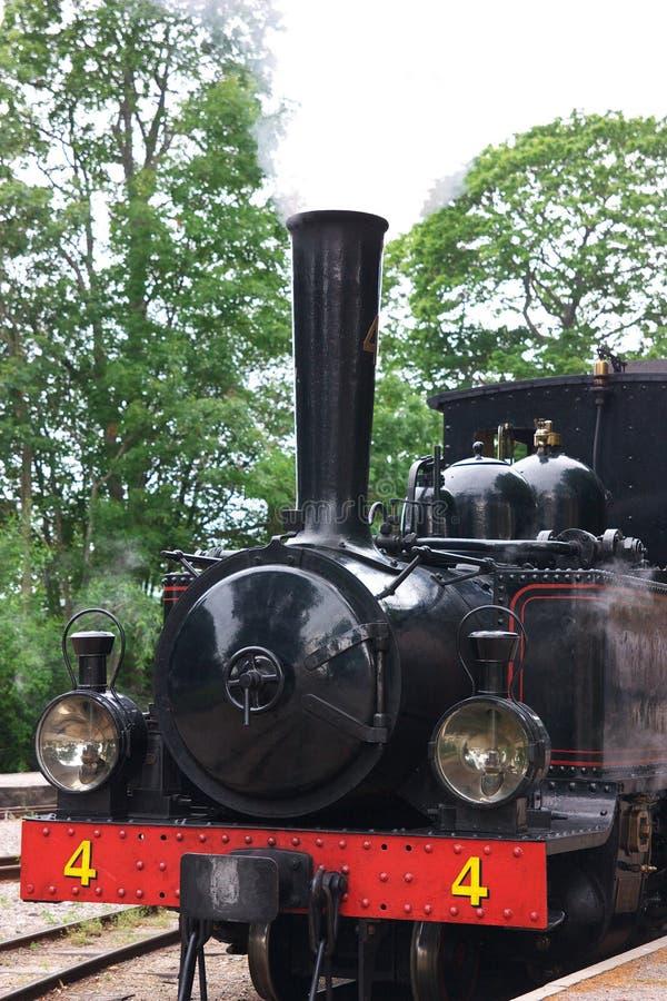 долина поезда пара Англии железнодорожная severn стоковые изображения