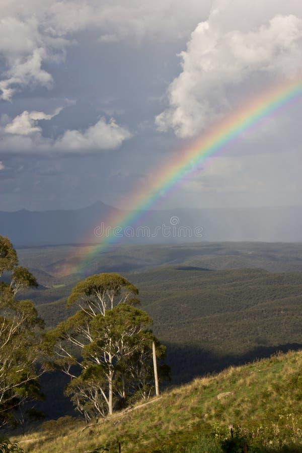 Долина радуги стоковые изображения rf