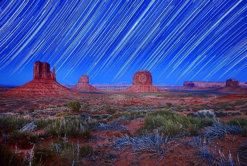 долина тропки звезды памятника изображения дневного света стоковые фото