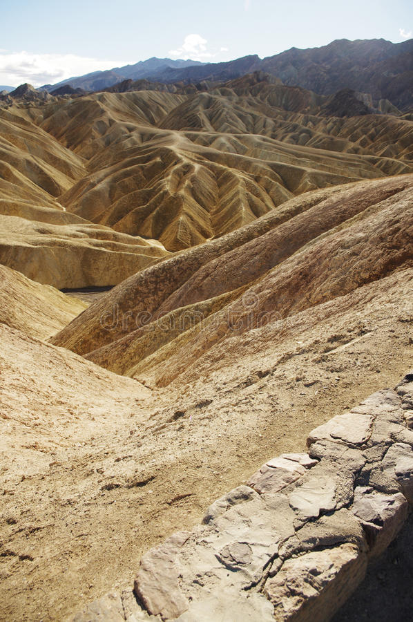 долина холмов смерти стоковое изображение