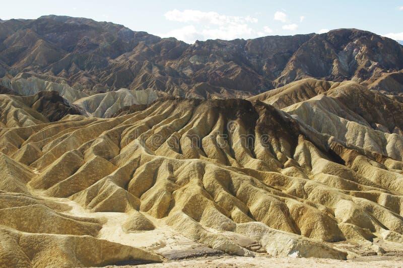 долина холмов смерти стоковые фото