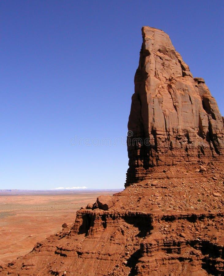 долина 2 памятников стоковое изображение