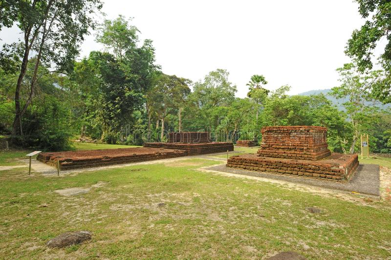 Долина Bujang стоковые изображения rf
