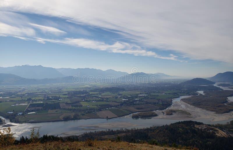 Долина Fraser стоковая фотография rf