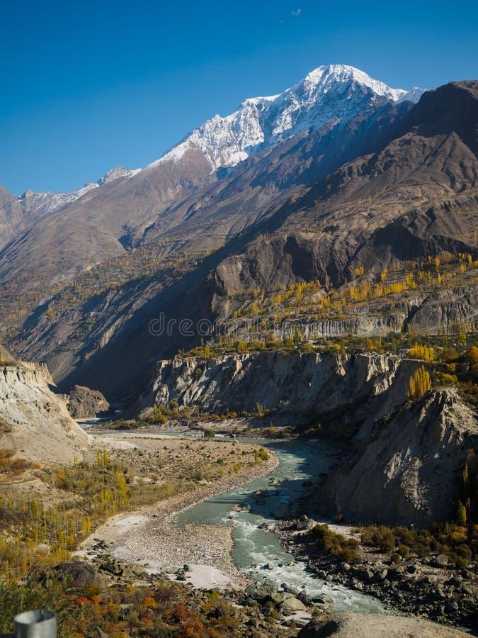 Долина Hunza стоковые изображения
