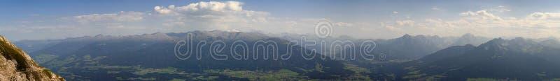 долина innsbruck стоковое изображение rf