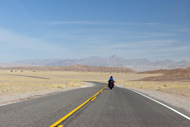 долина motorcyclist смерти стоковые фотографии rf