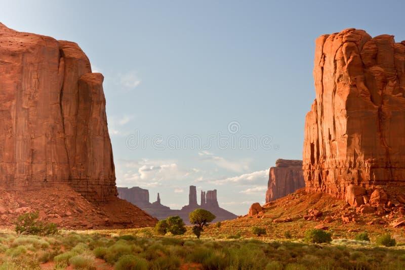 долина mounment стоковое изображение