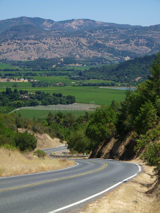долина napa california стоковые фото