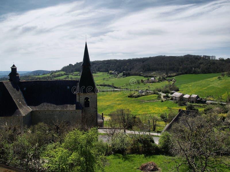 долина turenne стоковые изображения rf