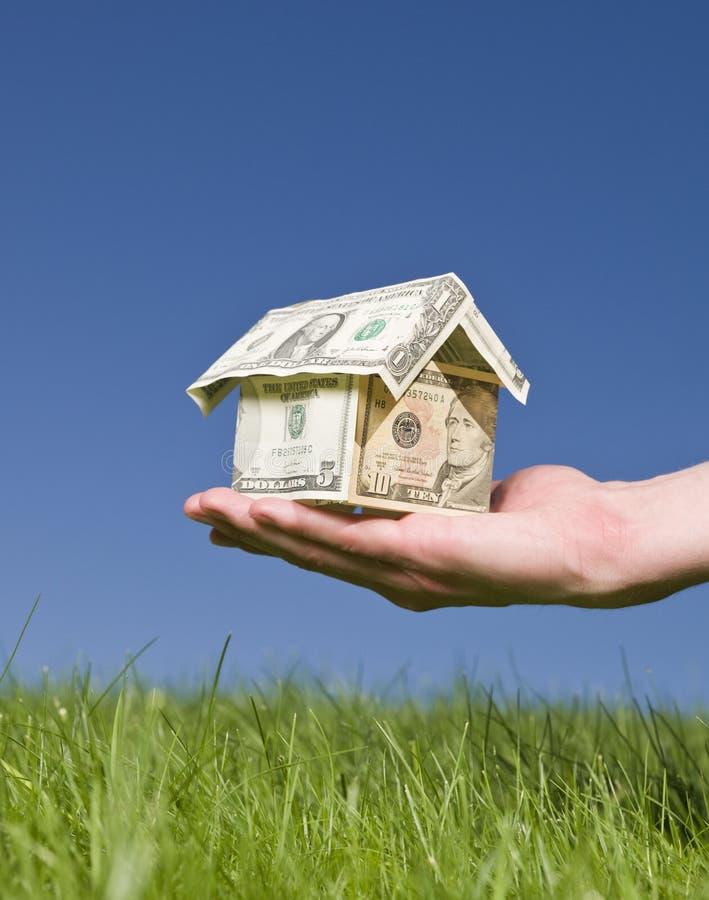 доллары дома стоковые фото