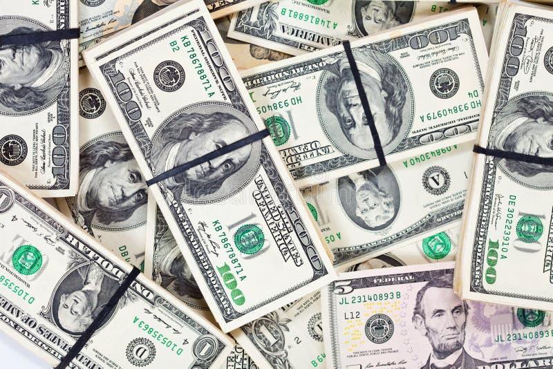 доллары кредиток много мы стоковые фото