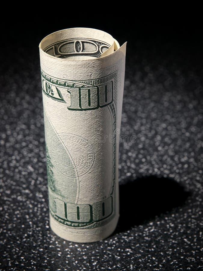 доллары крена стоковые фото