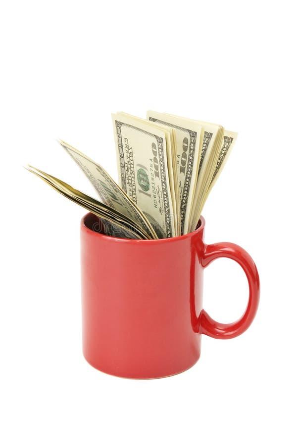 доллары крышки стоковое фото