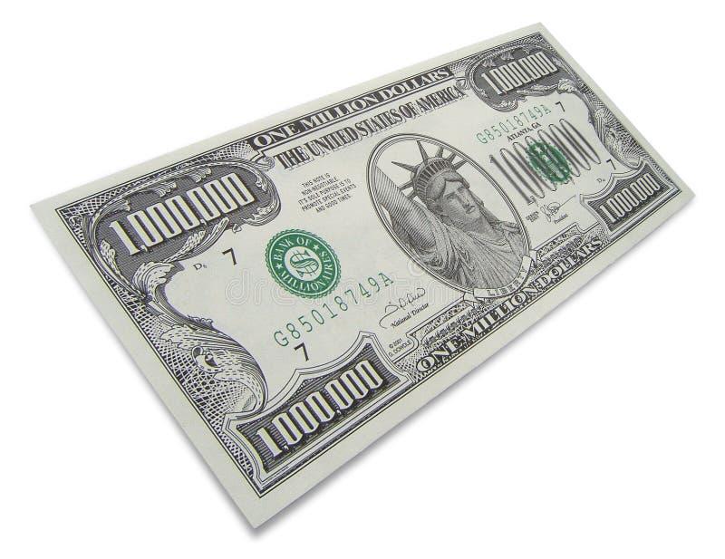 доллары миллион одних стоковая фотография