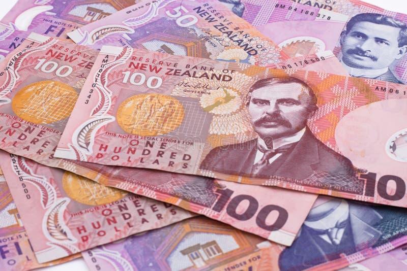 доллары Новой Зеландии стоковые изображения rf