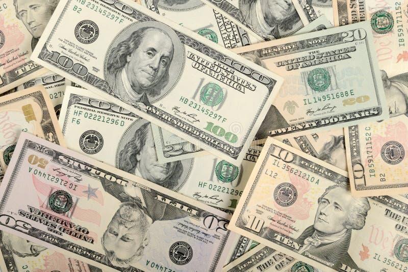 доллары предпосылки стоковое фото rf