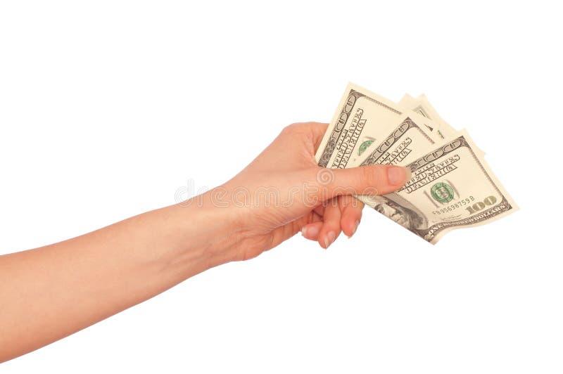 доллары фальшивки стоковые фотографии rf