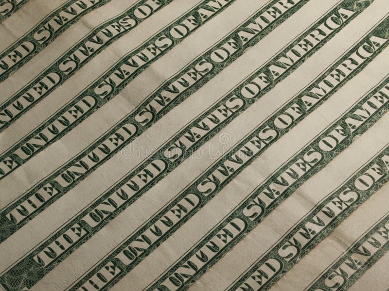Доллары флага банкнот стоковые изображения