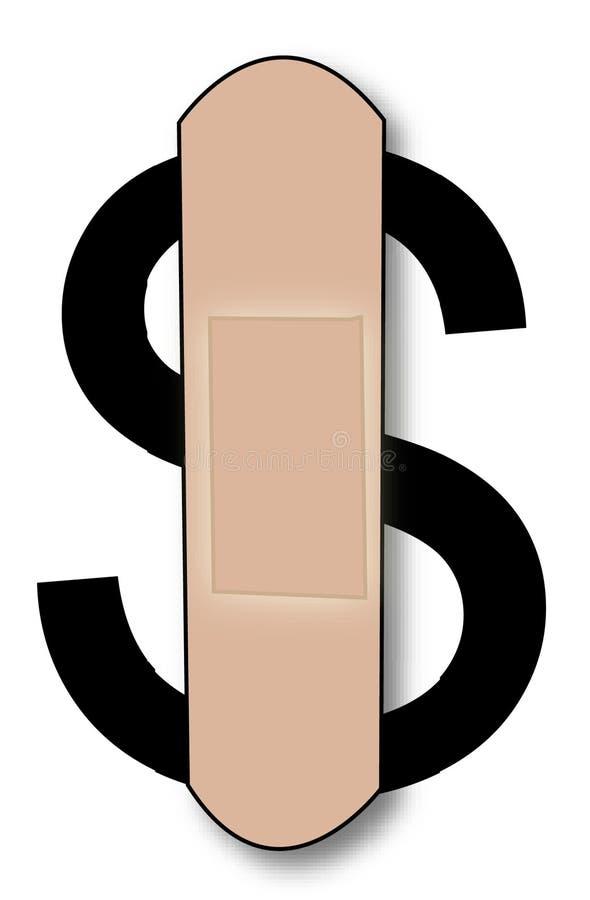 доллар кровотечения бесплатная иллюстрация