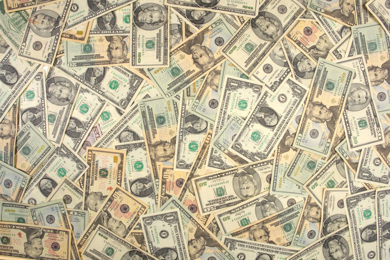 доллар предпосылки стоковое фото rf