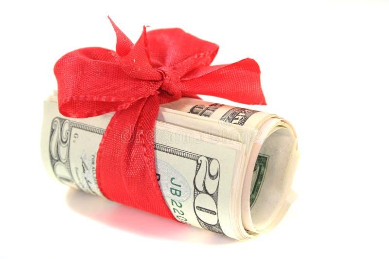 доллар смычка счетов стоковая фотография rf