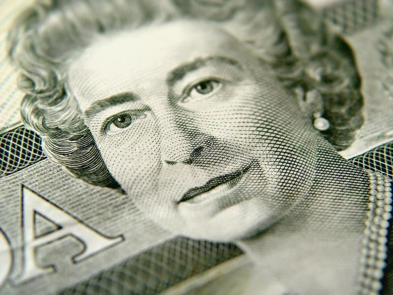 доллар 20 крупного плана счета стоковое изображение