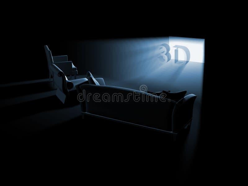 домашнее кино бесплатная иллюстрация