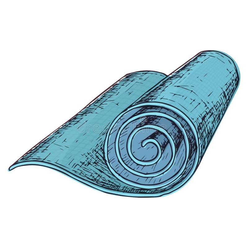Домашнее оборудование спортзала иллюстрация штока
