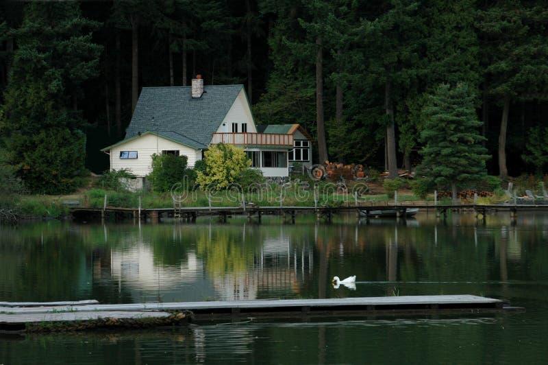 домашнее озеро стоковая фотография