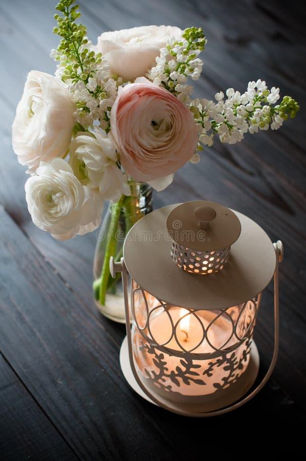 Домашнее праздничное оформление свадьбы стоковое фото rf